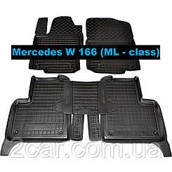 Коврики в салон Avto-Gumm для Mercedes W 166 ML - class