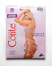 Утягивающие женские колготки Conte Active 20 den