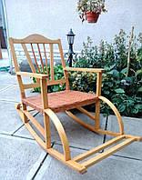 Кресло качалка с положением сидя буковая, фото 1
