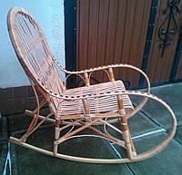 Кресло качалка плетеная