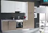 Доступные итальянские кухни (с бытовой техникой) 270 см 8 вариантов