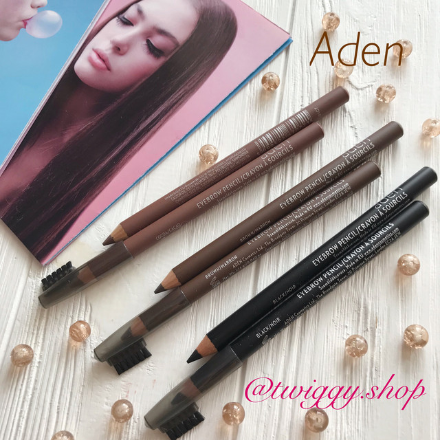 Карандаши для бровей Aden cosmetics