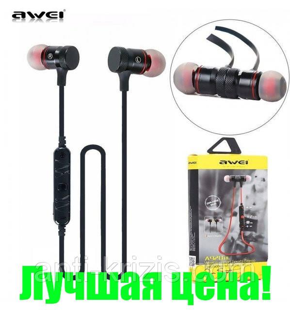 Навушники безпровідні Awei Bluetooth A920BL Black