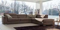 Кожаный модульный диван с подъемным подголовником ANTIGUA фабрика Ditre Italia (Италия)