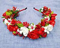 Віночок Квіти з калинкою