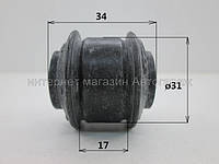 Втулка (нижн.) заднего амортизатора (оригинального) на Рено Кенго (1998-2008) BC (Украина) BC1201