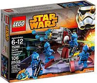 Конструктор Лего Звездные войны LEGO Star Wars 75088 Элитное подразделение Коммандос Сената.