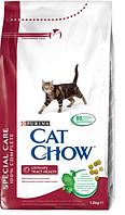 Cat Chow (Кэт Чоу) Сухой корм для кошек для профилактики мочекаменной болезни Special Care 1,5 кг