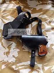 Кобура оперативна шкіряна для пістолетів: Макарова і Stalker 914 для лівші