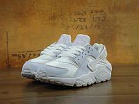Кроссовки Nike Air Huarache Run Premium White (реплика), фото 1