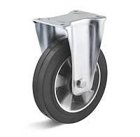 Неповоротное колесо диаметром 125 мм из эластичной резины