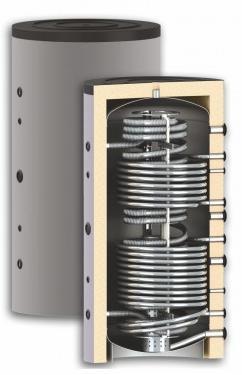 Бак комбинированный гигиенический HYG R2 1500/49л Sunsystem Болгария