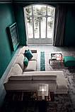 Итальянский модульный диван с контрастным кантом на высокой базе ANGEL фабрика Felis, фото 5