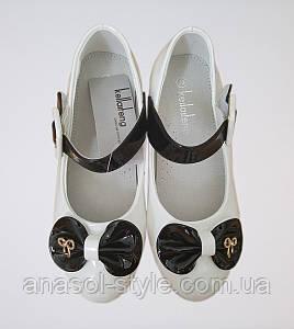 Туфли Бантик белые