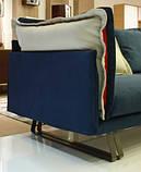 Стильный современный диван с контрастными подушками JAZZ фабрика META DESIGN, фото 9