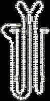 Проводные наушники Promate Pearli White