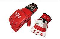 Перчатки для смешанных единоборств MMA Кожа VELO ULI-4026