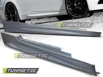 Накладки на пороги тюнинг обвес BMW E92 стиль M3