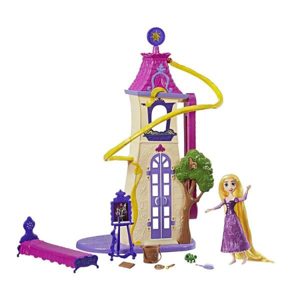 Disney Принцессы Диснея Запутанная история Замок башня Рапунцель Tangled the Series Swinging Locks Castle