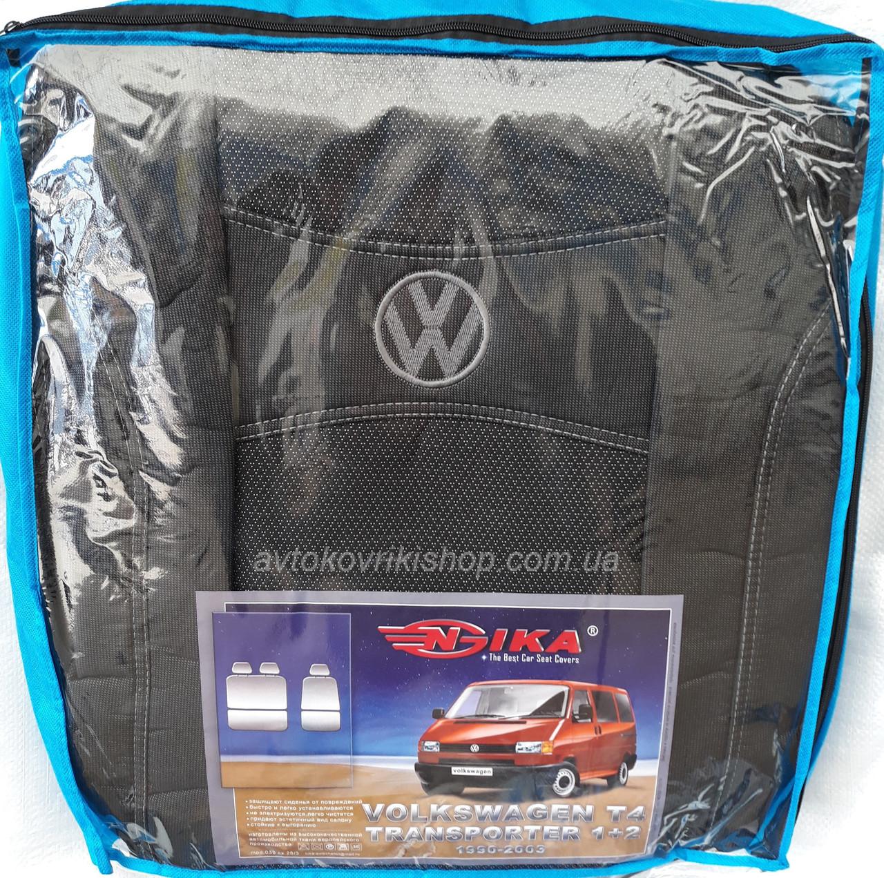 Авточехлы Volkswagen T4 1+2 1990-2003 Nika