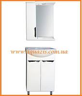 Мини-комплект мебели для ванной Грация 60 Т-1Л