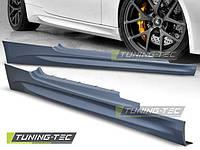 Накладки на пороги тюнинг обвес BMW E92 стиль M Sport Paket