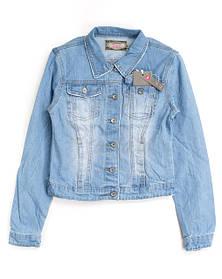 Женские джинсовые куртки и жилетки оптом