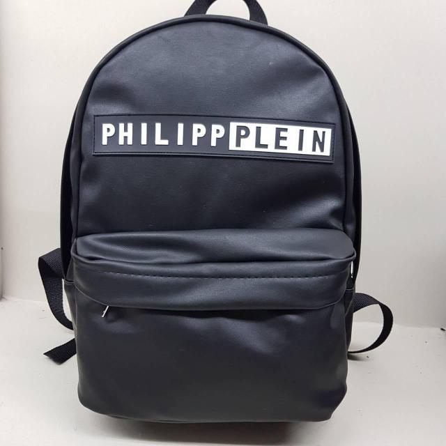 Рюкзак экокожа PU городской мужской. Черный.Нет в наличии