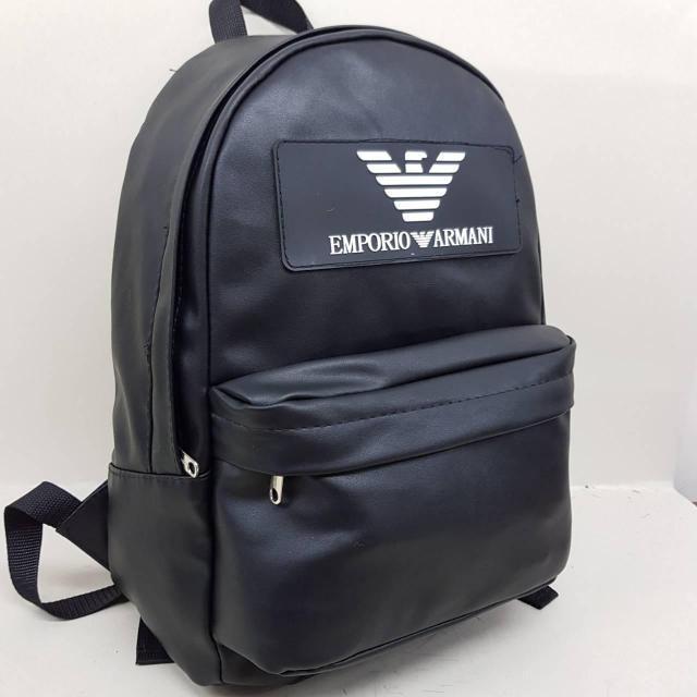 Рюкзак экокожа PU городской . Черный.Нет в наличии