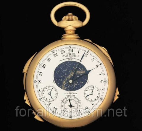 Дорогие часы Pатек Philippe. 7 место в ТОП-10 мужских часов