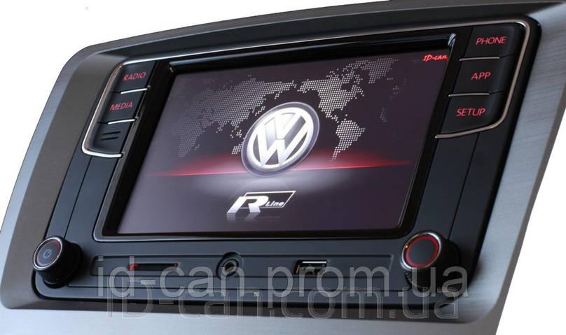 Штатная Автомагнитола RCD330 plus VW MIB2-G PQ Carplay AndroidAuto NoName