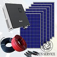 """Сонячна електростанція 15kW під """"Зелений тариф"""", комплект економ"""
