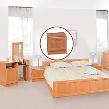 Тумбочка приліжкова з ДСП/МДФ в спальню Соня горіх Світ Меблів