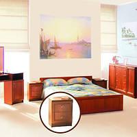 Тумбочка приліжкова з ДСП/МДФ в спальню Лотос яблуня Світ Меблів