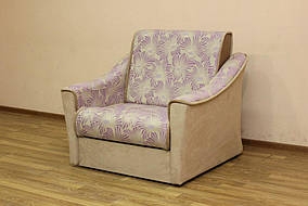 Кресло-Кровать Натали 0,8 Джесика виолет и однотон(Катунь ТМ)
