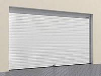 Гаражные секционные ворота из однослойных панелей с торсионным механизмом RSD02-SLP
