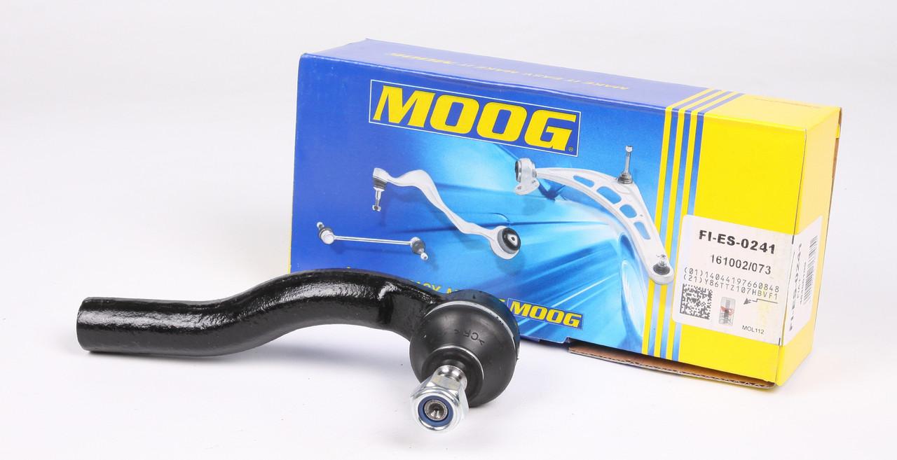 Наконечник рулевой Добло / Fiat Doblo с 2001 /  Strada с 1999  Moog FIES0241 США (левый согнутый)