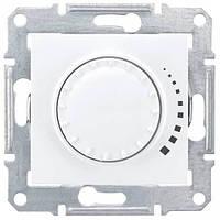 Диммер проходной емкостной поворотно-нажимной Белый Sedna Schneider, SDN2200721
