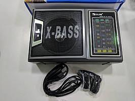 Радиоприемник Golon RX-166 LED Black