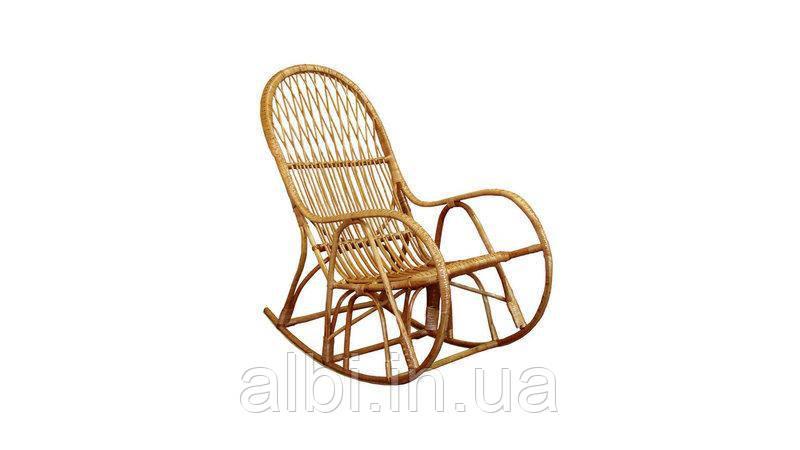 Кресло-качалка плетенное из лозы КК/4