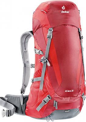 Рюкзаки 30 л. для однодневных прогулок в горах AC AERA 30 DEUTER, 34734 5560 красный