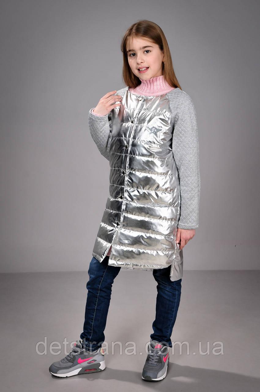 Пальто весеннее тонкое для девочки