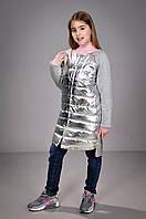 Пальто весеннее тонкое для девочки, фото 1