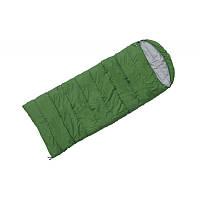 Спальный мешок Terra Incognita Asleep Wide 300 Зеленый/Правый