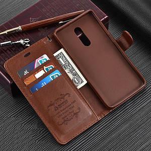 """Xiaomi Redmi Pro оригинальный кожаный чехол книжка кошелёк с карманами противоударный на телефон """"ASPENZ"""""""