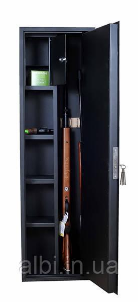 Сейф для оружия на 2-3 ружья ШОЛ-1370 с фальшпанелью