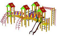 Детский игровой комплекс «Радость» БК-707Р