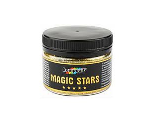 Глиттер полиэфирный KOMPOZIT MAGIC STARS декоративный  золото 60гр