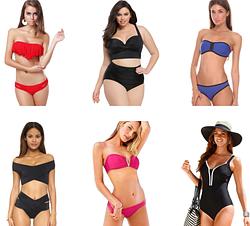 Популярные модели и Новые купальники уже в продаже