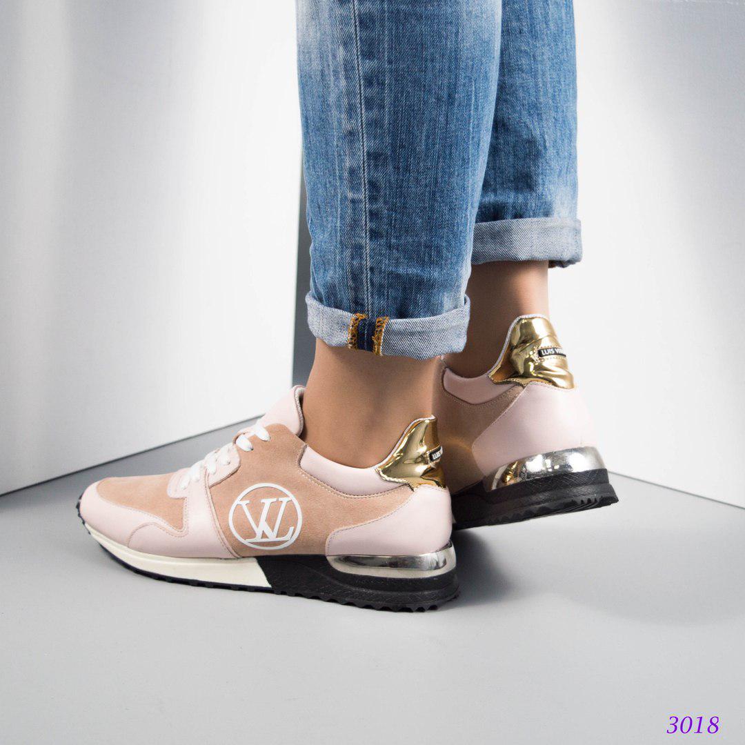 ba6338a00541 ... Женские кроссовки копия Луи Витон,большемерят.Натуральная кожа замша.,  фото 5